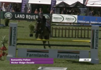 Land Rover 3* Eventing Showjumping phase