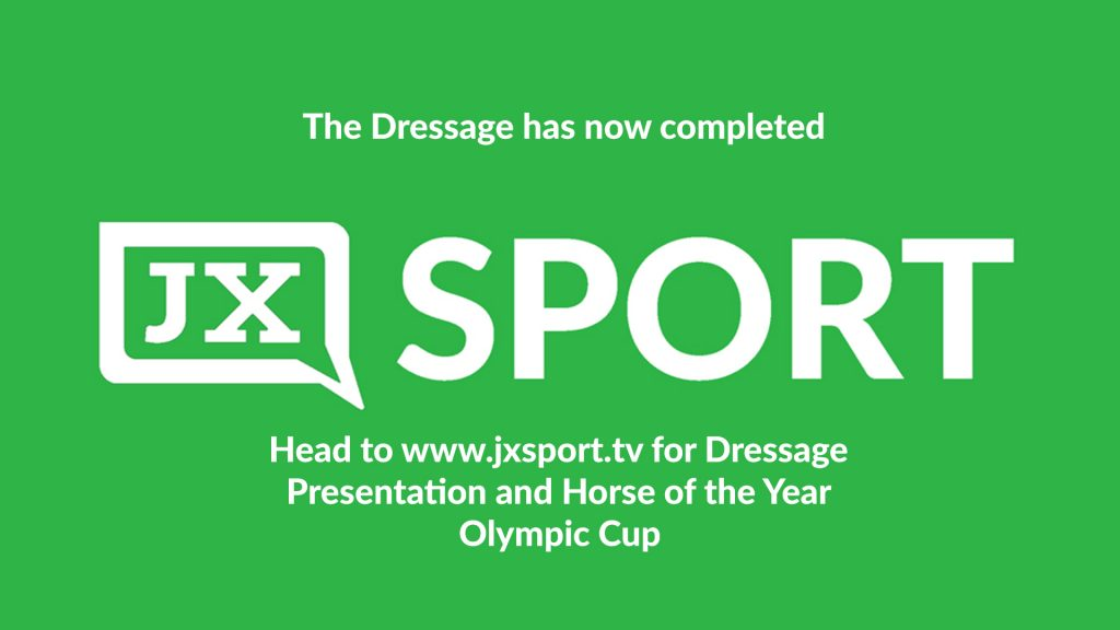 HOY Dressage completed